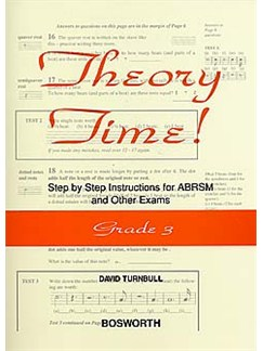 David Turnbull: Theory Time - Grade 3 Books |