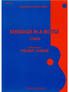 Sting: Message In A Bottle Books | Guitar