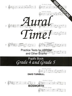David Turnbull: Aural Time! Practice Tests - Grades 4 And 5 (Pupil's Book) Books | Voice, Piano Accompaniment
