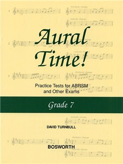 David Turnbull: Aural Time! Practice Tests - Grade 7 Books | Voice, Piano Accompaniment