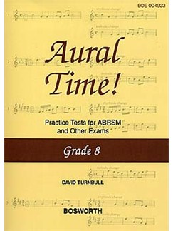 David Turnbull: Aural Time! Practice Tests - Grade 8 Books | Voice, Piano Accompaniment