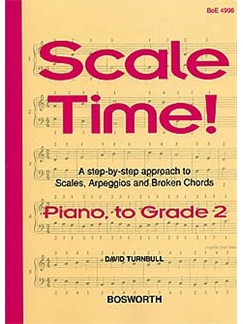 Turnbull: Scale Time! Grade 2 Piano Books | Piano