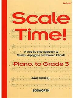 Turnbull: Scale Time! Grade 3 Piano Books | Piano