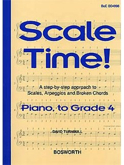 Turnbull: Scale Time! Grade 4 Piano Books | Piano