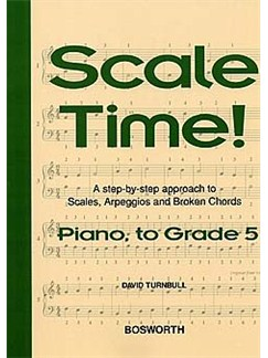 Turnbull: Scale Time! Piano Grade 5 Books | Piano