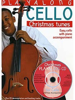Playalong Cello: Christmas Tunes Books and CDs | Cello, Piano