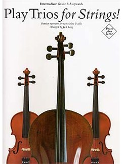 Play Trios For Strings! Books | 2 Violin, Cello