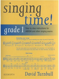 David Turnbull: Singing Time! Grade 1 Books | Voice, Piano Accompaniment