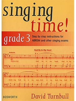 David Turnbull: Singing Time! Grade 3 Books | Voice, Piano Accompaniment