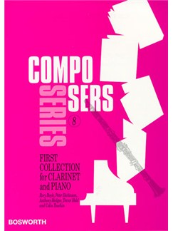 Composers Series 8: First Collection For Clarinet And Piano Books | Clarinet, Piano
