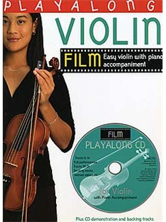 Playalong Violin: Film Tunes (Book And CD) Books and CDs | Violin and Piano