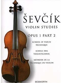 Otakar Sevcik: Violin Studies - School Of Violin Technique Op.1 Part 2 Books | Violin