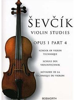 Otaker Sevcik: School Of Violin Technique Op.1 Part 4 Buch | Violine