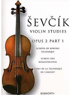 The Original Sevcik Violin Studies: Ecole De La Technique De L'Archet - Opus 2 Part 1 Livre | Violon