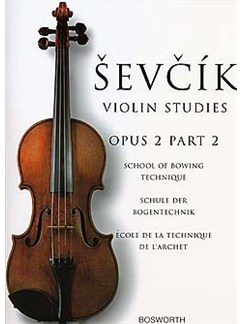 Otakar Sevcik: Violin Studies Op.2 Part 2 Livre | Violon