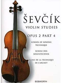 Sevcik Violin Studies: School Of Bowing Technique Opus 2 Part 4 Buch | Violine