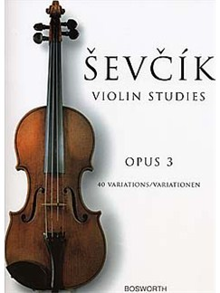 Otakar Sevcik: Violin Studies - 40 Variations Op.3 Books | Violin