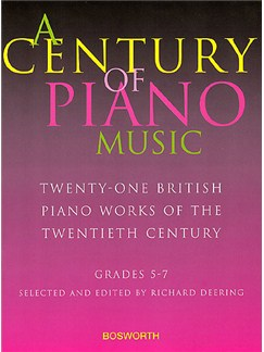A Century Of Piano Music: 21 British Piano Works of the 20th Century Books | Piano