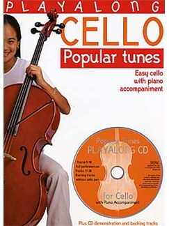 Playalong Cello: Popular Tunes Books and CDs | Cello, Piano