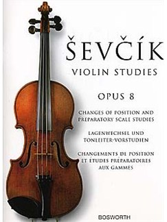 Otakar Sevcik: Studies For Violin Op.8 Buch | Violine