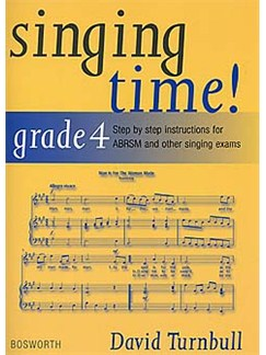 David Turnbull: Singing Time! Grade 4 Books | Voice, Piano Accompaniment