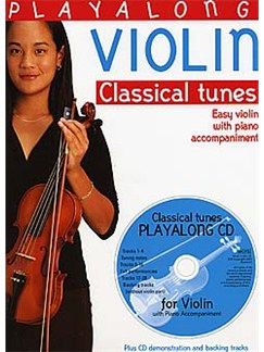 Playalong Violin - Classical Tunes Books and CDs | Violin