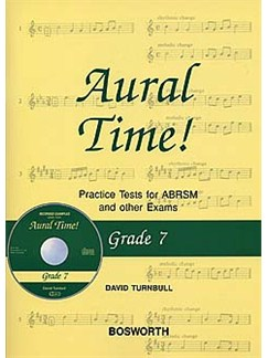 David Turnbull: Aural Time! Practice Tests - Grade 7 (Book/CD) Books and CDs | Voice, Piano Accompaniment
