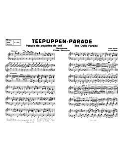 L. Noiret: Tea Dolls' Parade (Piano Score/Parts) Books | Orchestra, Piano Accompaniment
