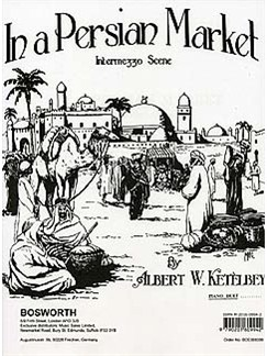 Albert Ketelbey: In A Persian Market (Piano Duet) Books | Piano Duet