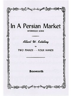 Albert Ketelbey: In A Persian Market - Intermezzo Scene (2 Pianos) Books | Two Pianos