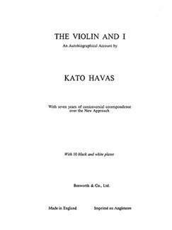 Kato Havas: The Violin And I Books | Violin