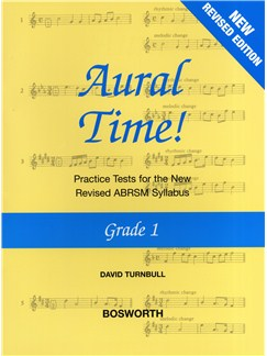 David Turnbull: Aural Time! - Grade 1 (ABRSM Syllabus From 2011) Books | Voice, Piano Accompaniment
