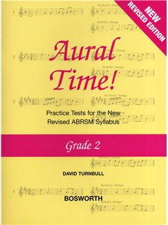 David Turnbull: Aural Time! - Grade 2 (ABRSM Syllabus From 2011) Books | Voice, Piano Accompaniment