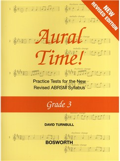 David Turnbull: Aural Time! - Grade 3 (ABRSM Syllabus From 2011) Books | Voice, Piano Accompaniment