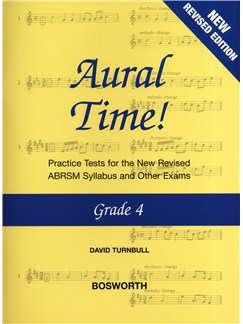 David Turnbull: Aural Time! - Grade 4 (ABRSM Syllabus From 2011) Books | Voice, Piano Accompaniment