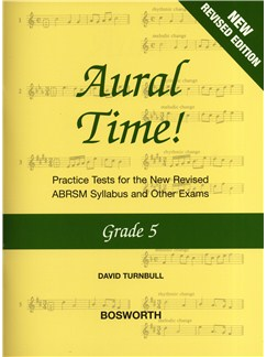 David Turnbull: Aural Time! - Grade 5 (ABRSM Syllabus From 2011) Books | Voice, Piano Accompaniment