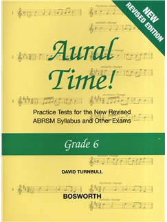 David Turnbull: Aural Time! - Grade 6 (ABRSM Syllabus From 2011) Books | Voice, Piano Accompaniment