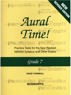 David Turnbull: Aural Time! - Grade 7 (ABRSM Syllabus From 2011) Books | Voice, Piano Accompaniment