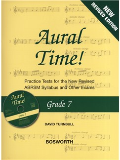 David Turnbull: Aural Time! - Grade 7 Book/CD (ABRSM Syllabus From 2011) Books and CDs | Voice, Piano Accompaniment