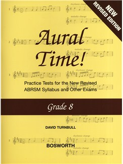 David Turnbull: Aural Time! - Grade 8 (ABRSM Syllabus From 2011) Books | Voice, Piano Accompaniment