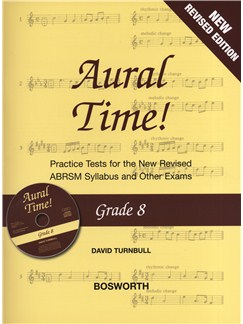 David Turnbull: Aural Time! - Grade 8 Book/CD (ABRSM Syllabus From 2011) Books and CDs | Voice, Piano Accompaniment