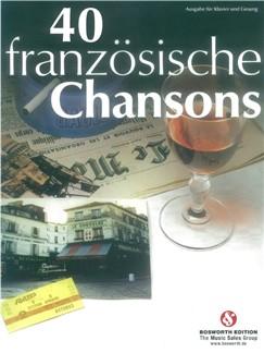 40 Französische Chansons Livre | Chant et Piano