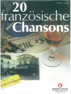 20 Französische Chansons Books | Accordion