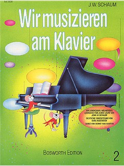 John W. Schaum: Wir Musizieren Am Klavier Bd.2 Books | Piano