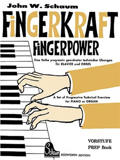 John W. Schaum: Fingerkraft Vorstufe (Fingerpower Prep Book) Books | Piano