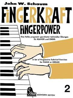 John W. Schaum: Fingerkraft Heft 2 (Fingerpower Book 2) Books | Piano