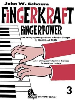 John W. Schaum: Fingerkraft Heft 3 (Fingerpower Book 3) Buch | Klavier