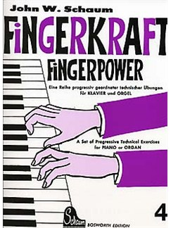 John W. Schaum: Fingerkraft Heft 4 (Fingerpower Book 4) Books | Piano
