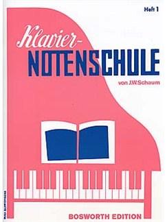 Klaviernotenschule Heft 1 (Vorbereitungsstufe) Buch | Klavier