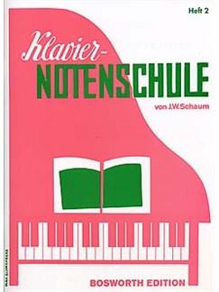J.W. Schaum: Klavier-Notenschule Heft 2 Buch | Klavier